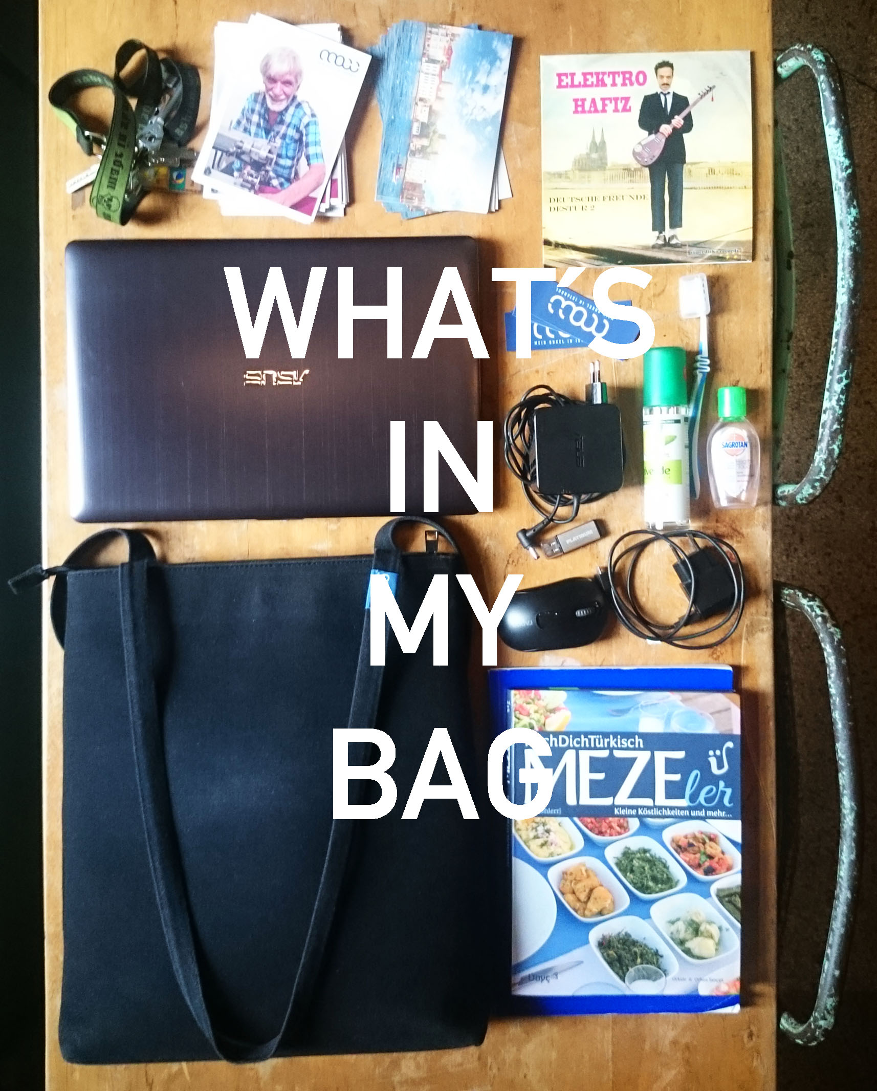 moii whats in my bag burakete 1